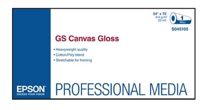 Picture of EPSON GS Canvas Gloss