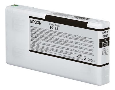 Picture of EPSON UltraChrome HDX Ink for P5000 - Photo Black (200 mL)