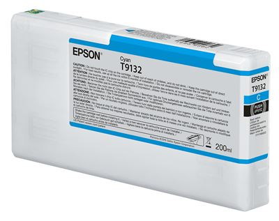 Picture of EPSON UltraChrome HDX Ink for P5000 - Cyan (200 mL)