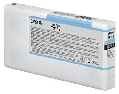 Picture of EPSON UltraChrome HDX Ink for P5000 - Light Cyan (200 mL)
