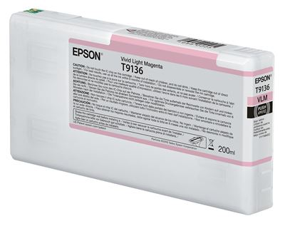 Picture of EPSON UltraChrome HDX Ink for P5000 - Vivid Light Magenta (200 mL)