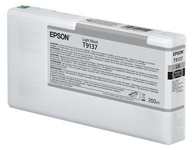 Picture of EPSON UltraChrome HDX Ink for P5000 - Light Black (200 mL)