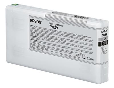 Picture of EPSON UltraChrome HDX Ink for P5000 - Light Light Black (200 mL)