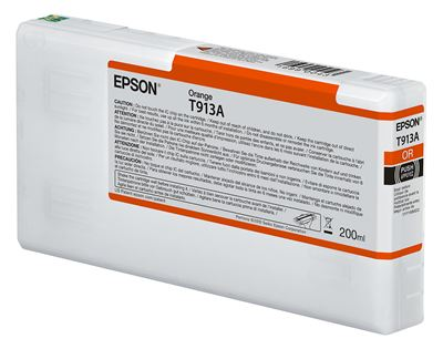 Picture of EPSON UltraChrome HDX Ink for P5000 - Orange (200 mL)