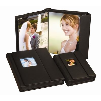 Picture of LexJet Sunset Pro Photo Albums 12 Pack- 5x7 Black