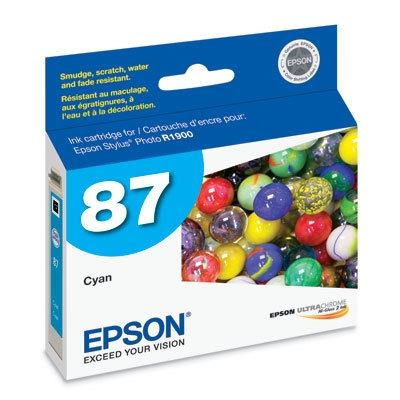 Picture of EPSON Stylus Photo R1900 Cyan Ink Cartridge