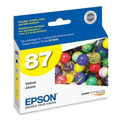 Picture of EPSON Stylus Photo R1900 Yellow Ink Cartridge
