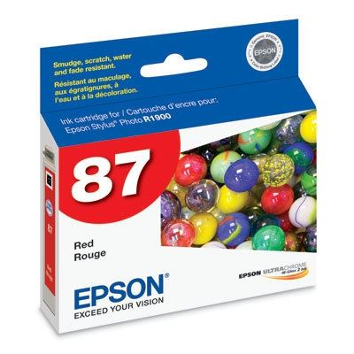 Picture of EPSON Stylus Photo R1900 Red Ink Cartridge