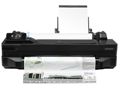 Picture of HP DesignJet T1xx Printer