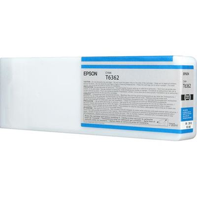 Picture of EPSON 7700/7890/7900/9700/9890/9900 Cyan UltraChrome HDR Ink- 700 mL