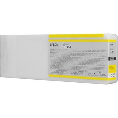Picture of EPSON 7700/7890/7900/9700/9890/9900 Yellow UltraChrome HDR Ink- 700 mL