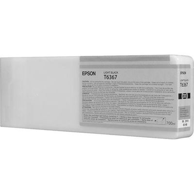 Picture of EPSON 7890/7900/9890/9900 Lt Black UltraChrome HDR Ink- 700 mL