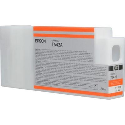 Picture of EPSON 7900/9900 Orange UltraChrome HDR Ink Cartridge - 150 mL