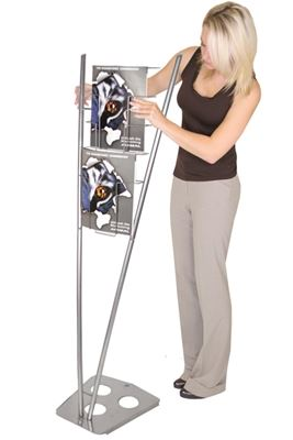 Picture of LexJet Victory Modular Literature Rack - Silver