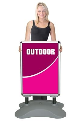 Picture of LexJet Whirlwind Sidewalk Sign 22.5in x 32.25in - Double Sided