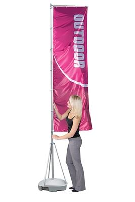 Picture of LexJet Wind-Dancer Outdoor Flag Pole System 16ft