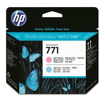 Picture of HP 771 Printhead for Designjet Z6200/Z6800 Lt Magenta/Lt Cyan