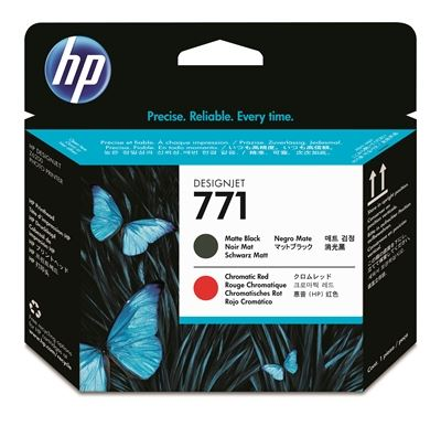 Picture of HP 771 Printhead for Designjet Z6200/Z6800 Matte Black/Chromatic Red