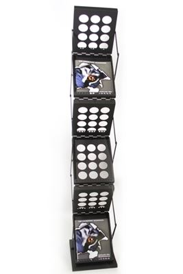 Picture of LexJet ZedUP Collapsible Literature Rack - Black