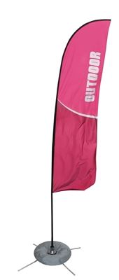 Picture of LexJet Zoom Outdoor Spinning Banner Stand
