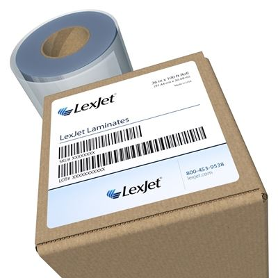 Picture of LexJet CrystalClear-X Removable Adhesive- 25in x 15ft