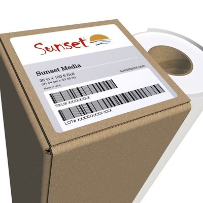 Picture of LexJet Sunset Fibre Matte 285g- 36in x 50ft