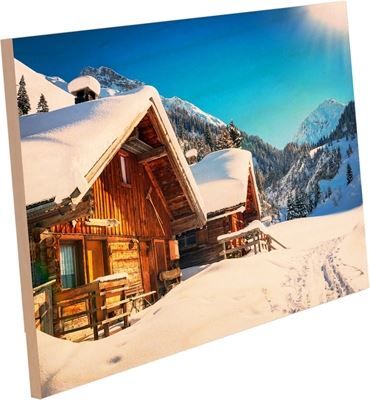 Picture of ChromaLuxe Natural Wood Prints Clear Matte - 8in x 8in (14-Panels)
