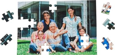 Picture of Unisub Jigsaw Puzzle - 25 Piece - Square