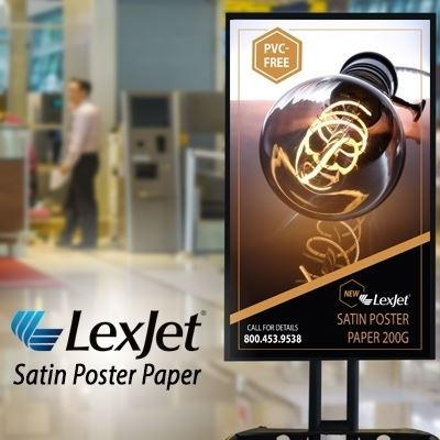 Picture of LexJet Satin Poster Paper 200g