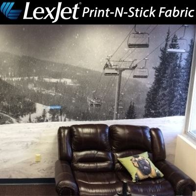 Picture of LexJet Print-N-Stick Fabric