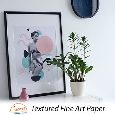 Picture of LexJet Sunset Textured Fine Art Paper 310g