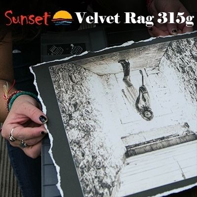 Picture of LexJet Sunset Velvet Rag 315g