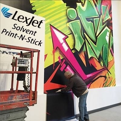 Picture of LexJet Solvent Print-N-Stick Fabric