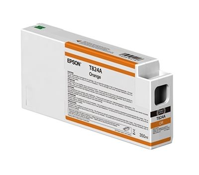 Picture of EPSON UltraChrome HDX Ink Cartridge for P7000 and P9000 - Orange (350 mL)