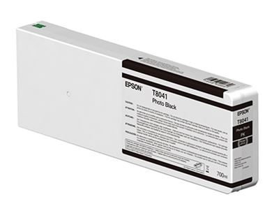 Picture of EPSON UltraChrome HD Ink Cartridge for P6000, P7000, P8000, and P9000 - Photo Black (700 mL)