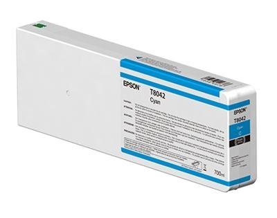 Picture of EPSON UltraChrome HD Ink Cartridge for P6000, P7000, P8000, and P9000 - Cyan (700 mL)