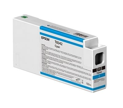 Picture of EPSON UltraChrome HD Ink Cartridge for P6000, P7000, P8000, and P9000 - Cyan (150 mL)