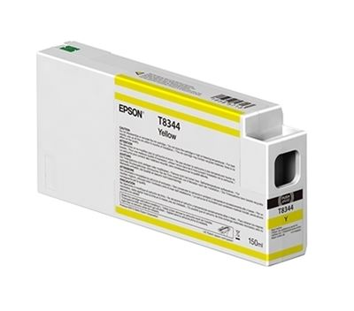 Picture of EPSON UltraChrome HD Ink Cartridge for P6000, P7000, P8000, and P9000 - Yellow (150 mL)