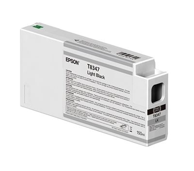 Picture of EPSON UltraChrome HD Ink Cartridge for P6000, P7000, P8000, and P9000 - Light Black (150 mL)