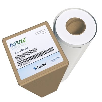 Picture of LexJet InFuze® Multipurpose Dye Sublimation Paper- 24in x 300ft