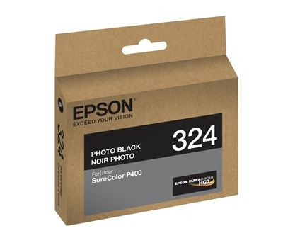 Picture of EPSON Ultrachrome HG2 Ink for SureColor Photo P400 Printer - Photo Black  (14 ml)