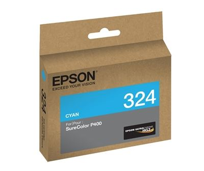 Picture of EPSON Ultrachrome HG2 Ink for SureColor Photo P400 Printer - Cyan  (14 ml)