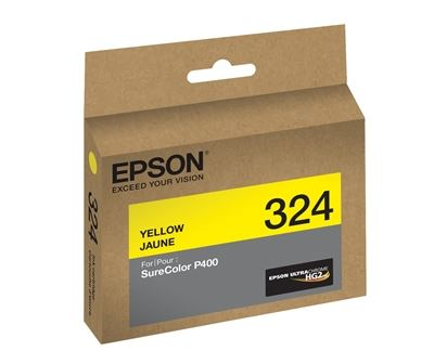 Picture of EPSON Ultrachrome HG2 Yellow Ink for SureColor Photo P400 Printer