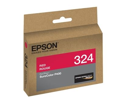 Picture of EPSON Ultrachrome HG2 Ink for SureColor Photo P400 Printer - Red (14 ml)