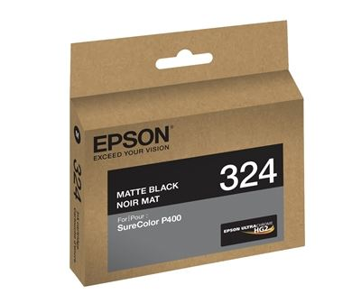Picture of EPSON Ultrachrome HG2 Ink for SureColor Photo P400 Printer - Matte Black (14 ml)