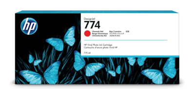 Picture of HP 774 Ink - Chromatic Red - 3-pack