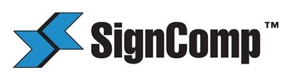 "Picture of SignComp Front Load Soft Signage Kit - Anodized - 18"" x 24"""