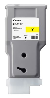 Picture of Canon imagePROGRAF PFI-320 TM-Series Ink - Yellow (300 mL)