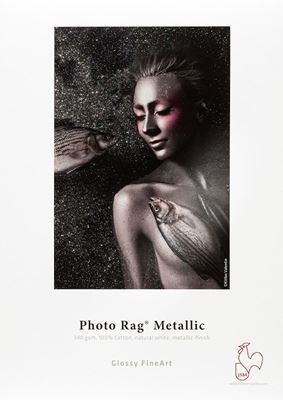 Picture of Hahnemühle Photo Rag® Metallic 340 g - 44 in x 39 ft