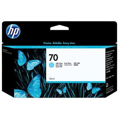 Picture of HP 70 Ink for Designjet Z2100/Z3100/Z3200 - Lt. Cyan